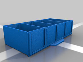 Modular Shelf Variations - Small Parts Storage