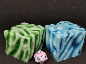Gelatinous Cube for 28mm Tabletop Roleplay