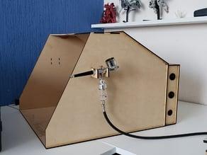 Spray booth for Airbrush DIY Laser Cut