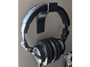 Headphone/Keyboard Wall Mounts (Command Strip Compatible)