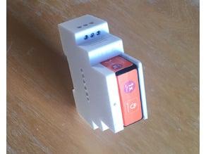 DIN Rail Box for EnOcean Relay Switch