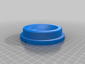 Plug threaded - OpenScad