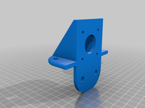 Z Motor Mount for 4040 Profile rounded Remix