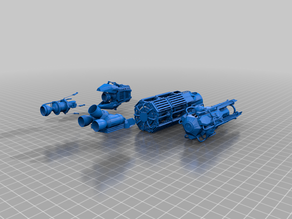 various thrusters - gaslands - gubbins