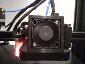 Satsana Ender 3 V2 4010 & 5015 Fan Duct with BLTouch