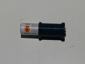AAA to AA lightweight adapter
