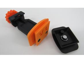Smartphone holder for tripod
