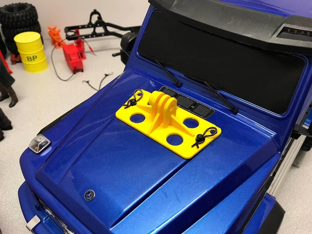 Actioncam Halterung für Traxxas G500 4x4 und G63 6x6