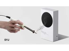 Xbox Series S Air Purifier / fume extractor