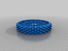 Studded wheel for Worx Landroid