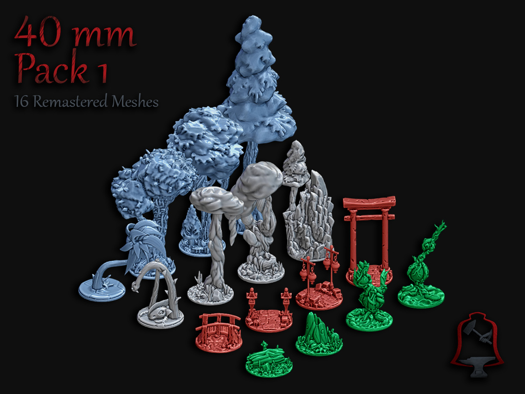 40 mm OpenFoliage Insert Pack