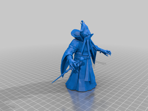 mindflayer wizard - dnd monster