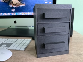 box with drawers