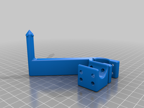 Ender 5 Plus bed wire support
