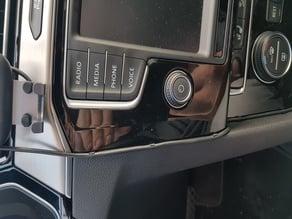 VW Passat B8 Charger Cable Clip