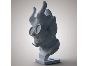 Geek Demon Bust