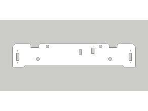Tronxy Zonestar P802M Rear Frame Plate Replacement