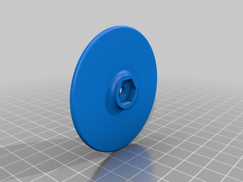 Alignment Disk Wheel for 1/10 On-Road R/C Cars