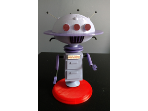 Uni-Blab Robot from the Jetsons