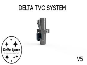 Delta Thrust Vector Control System Gimbal V5