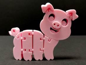 Flexi Articulated Pig
