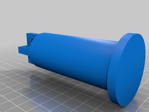 Coil holder for aluminium profile