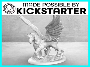 Pegasus - Casual Pose - Tabletop Miniature