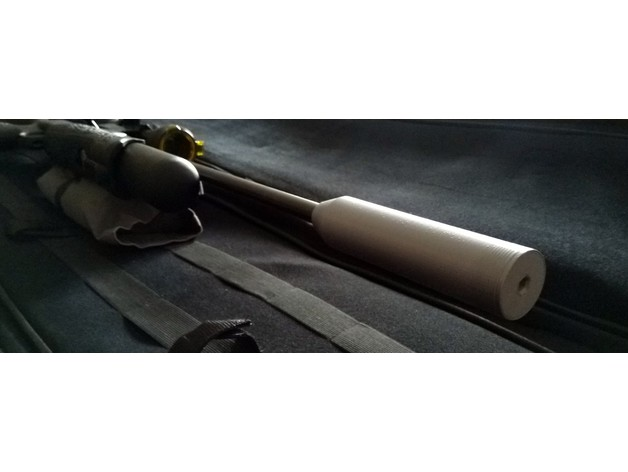 M10x1mm THREAD Coned Silencer Suppressor Air Rifle Only
