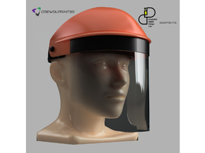 CRE-013 Face Shield Mask 01