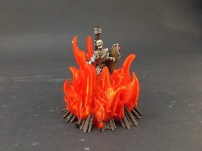 Burned at the Stake! for 28mm miniatures gaming