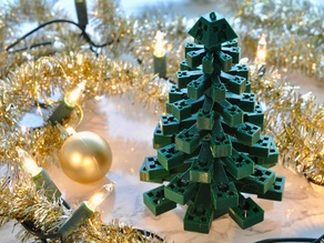 Minecraft Creeper Christmas Tree Ornament
