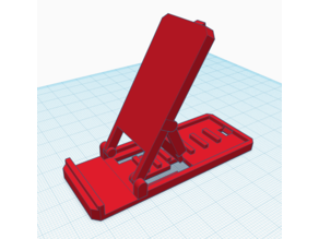 Folding Cell Phone Easel Stand