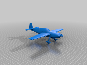 Extra 300 Airplane merged to one part