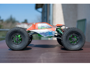 RC shafty AR60 crawler