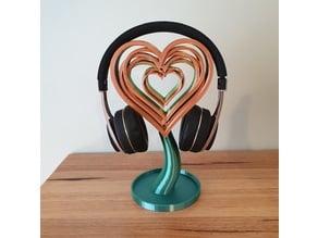 Love Hearts Headphone Stand
