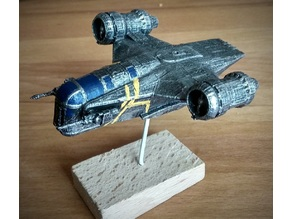 Razor Crest 94mm size for X-Wing