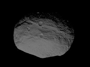 4 Vesta scaled one in ten million
