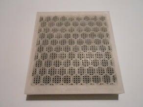 Carbon filter bed