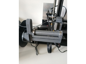 Filament Holder 85mm, includes Scale with HX711, Raspberry Octoprint, compatible with Filler System