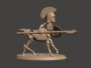 28mm - Undead Skeleton Centaur Miniature