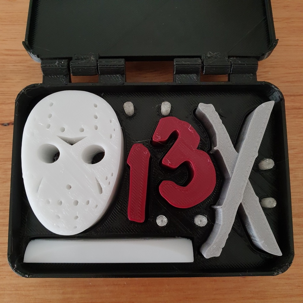 Jason Voorhees in a box