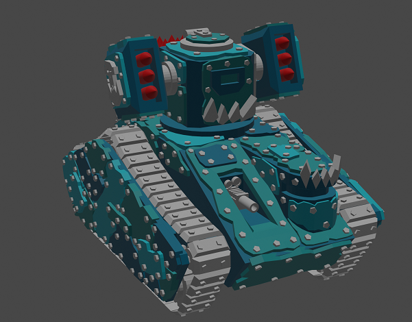 Puny little looted tank (Version B)