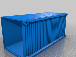 1:29 scale container 48ft Gscale