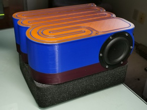 Single piece Hexibase Tang Band Subwoofer (Fusion 360)