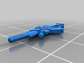 MULTI Rifle + Light Flamethrower for Pan-O from Infinity: The Game