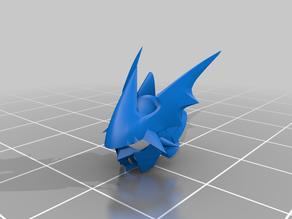 Dukemon / Gallantmon crimson mode helmet - Digimon