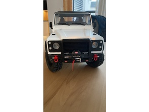 Front Bumper with Winch for 3DSets Landrover Defender