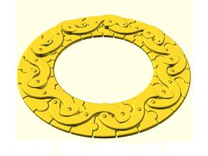 Ezekiel's Wheel Puzzle