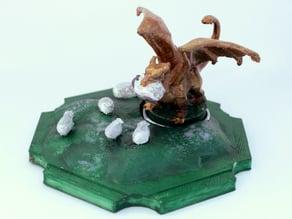 Dragon Catan Robber by Nicosh