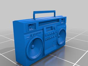 80s Retro Stereo Ghettoblaster